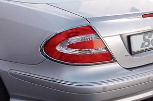 Хромированные накладки на задние фонари Schatz для Mercedes CLK C209