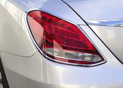 Хромированные накладки на фонари Schatz для Mercedes C-Class W205