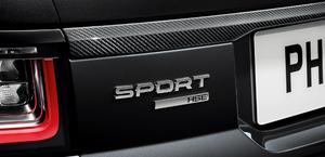 Карбоновая накладка на крышку багажника для Range Rover Sport