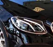 Хром накладки на фары Schatz для Mercedes W213