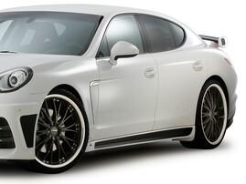 Пороги JE Design для Porsche Panamera