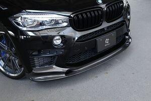Карбоновая накладка переднего бампера для BMW X6M F86