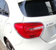 Хромированные накладки на фонари Schatz для Mercedes A-Class W176