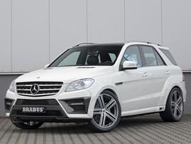 Обвес Brabus Widestar для Mercedes ML W166