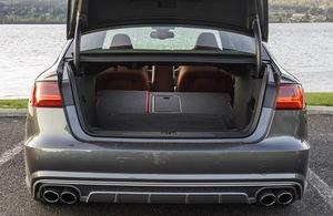 Диффузор S6 для Audi A6 4G