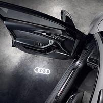 Светодиодная проекция в двери для Audi