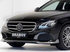 Накладка переднего бампера Brabus для Mercedes E-Class W213