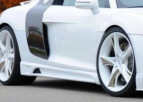 Пороги Rieger для Audi R8