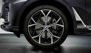 Комплект колес Y-Spoke 785M Bicolor для BMW X5 G05