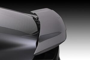 Стационарный карбоновый спойлер Piecha для Jaguar F-Type Coupe