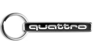 Брелок Audi quattro
