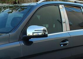 Хромированные накладки на зеркала Schatz для Mercedes ML GL G