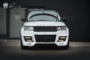 Карбоновая решетка радиатора Lumma для Range Rover Vogue