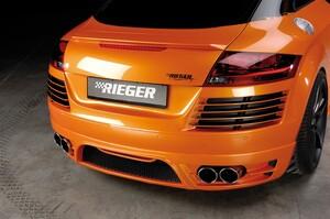 Накладка заднего бампера Rieger для Audi TT 8J