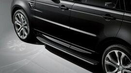 Боковые подножки для Range Rover Sport