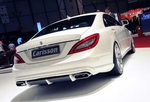 Диффузор заднего бампера Carlsson для Mercedes CLS C218