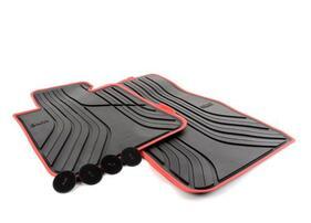 Резиновые коврики Sport Line для BMW F22 2-серия, передние