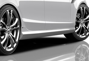 Пороги ABT для Audi A4 8K