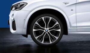 Комплект колес Double Spoke 599M Performance для BMW X3 F25/X4 F26