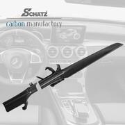 Карбоновые салонные вставки Schatz для Mercedes W205