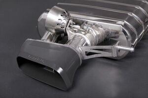 Комплект глушителей Capristo для BMW F12/F13/F06 6-серия
