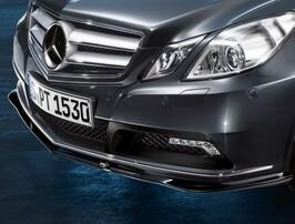 Юбка переднего бампера Mercedes Sport для Mercedes E-Class Coupe C207