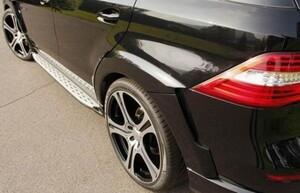Накладки на боковые подножки Carlsson для Mercedes ML W166