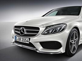 Передний бампер AMG для Mercedes C-Class W205