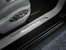 Накладки на пороги Porsche Macan Turbo