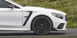 Накладки на крылья Mansory для Mercedes S63 Coupe
