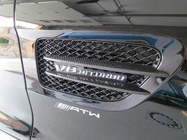 Карбоновые накладки на крылья для Mercedes AMG GT