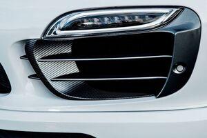 Карбоновые вставки в воздуховоды Techart для Porsche 991.1 Turbo/Turbo S