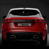 Задний бампер Caractere для Range Rover Velar