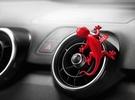 Оригинальный ароматизатор Audi, красный
