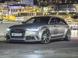 Пороги Prior Design для Audi A6 C7