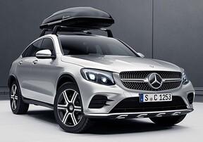 Багажник на крышу для Mercedes GLC Coupe