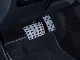 Накладки на педали Brabus для Mercedes A-Class W177