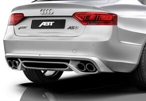 Диффузор с глушителем ABT для Audi A5 8T