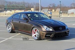 Обвес Prior Design Black Edition Widebody для Mercedes CLS C219