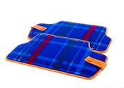 Текстильные коврики Speedwell Blue для MINI F55, задние