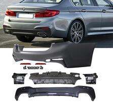 Задний бампер М-стиль для BMW G30 5-серия