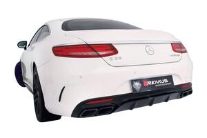 Выхлопная система Remus для Mercedes S63 AMG Coupe C217