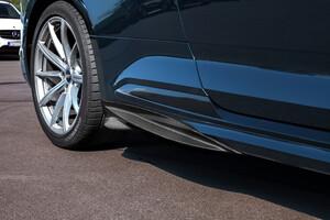 Карбоновые накладки на пороги Capristo для Audi RS5 B9