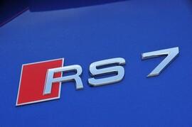 Шильдик RS7