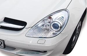 Хромированные накладки на фары Schatz для Mercedes SLK R171