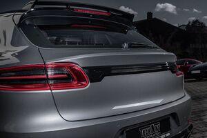 Нижний спойлер Techart для Porsche Macan