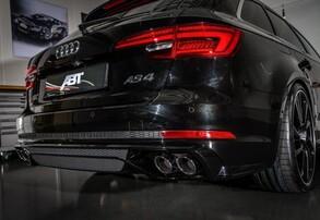 Диффузор с глушителем ABT для Audi A4 B9