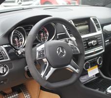 Руль с алькантарой AMG для Mercedes ML GL