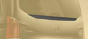 Накладка на крышку багажника Mansory для Mercedes V-Class