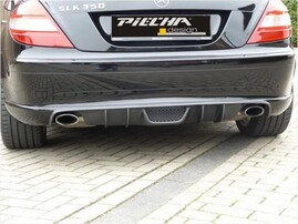 Диффузор заднего бампера Piecha Design для Mercedes SLK R171 до 04/08